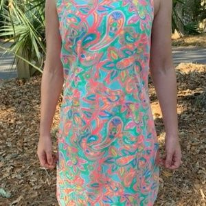 Lilly Pulitzer Vibrant Shift Dress size 6